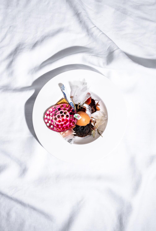 Ringelrande, Ei, Parmesan - Food Fotografie (Müll)
