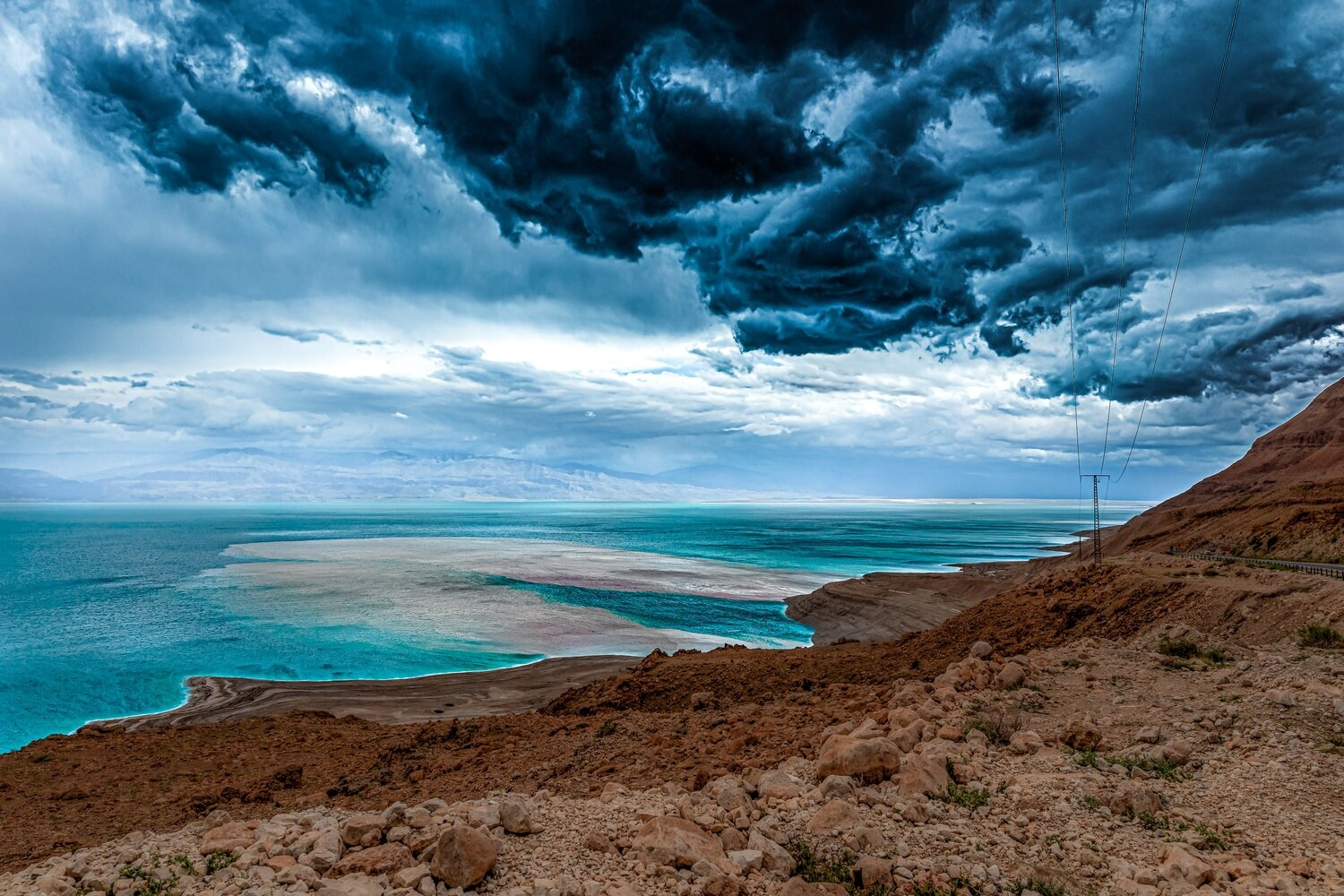 Dead Sea and the Storm