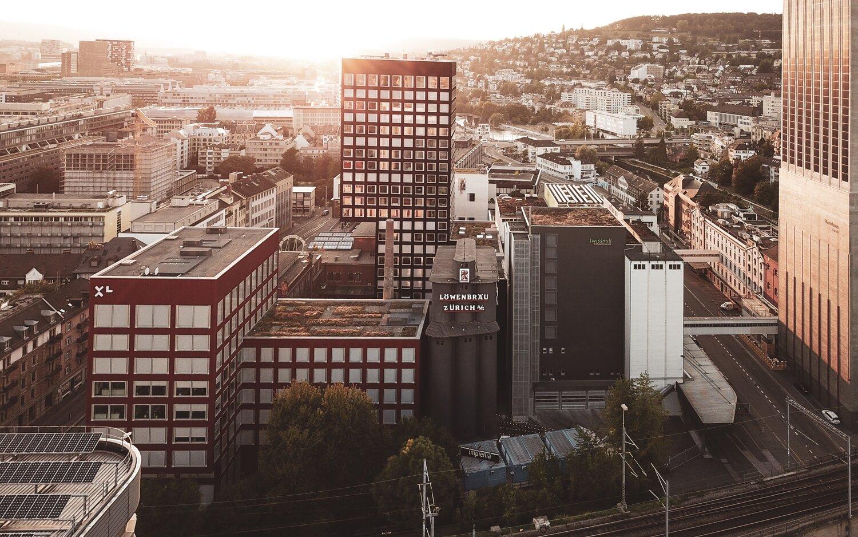 Zurich Cityscape 4