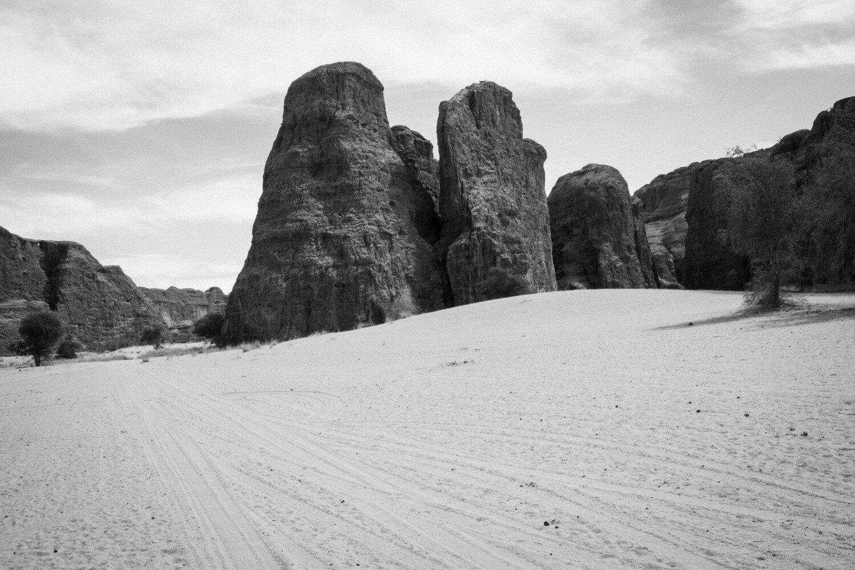 Mémoires du Tchad - les rochers