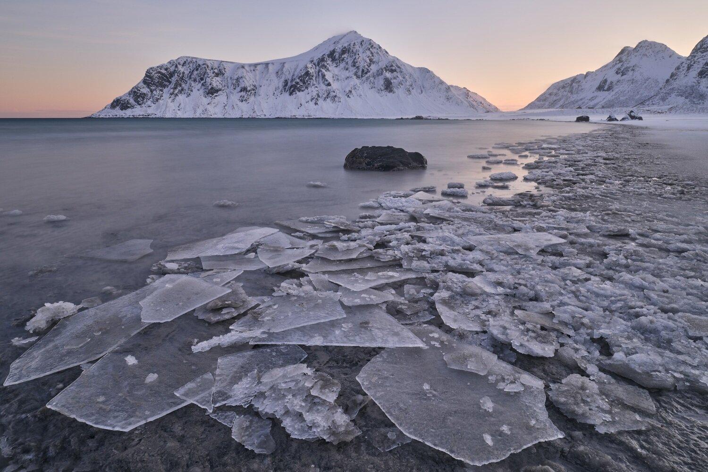Lofoten Eisstrand