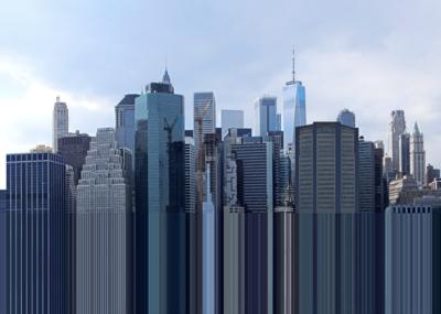 Manhattan . Unexpected Dimension