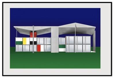 The Pavillon Le Corbusier, Zurich