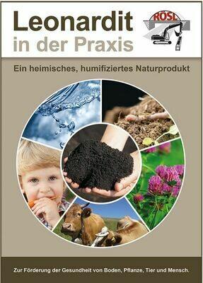 Kostenfreies e-book, PDF-Dokument zum Leonardit, Bodenhilfsstoff tiefe Wurzelbildung und bis zu 50% Huminstoff haltig, netto 0,00€