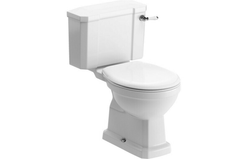 Sherbourne C/C WC & Standard Soft Close Seat