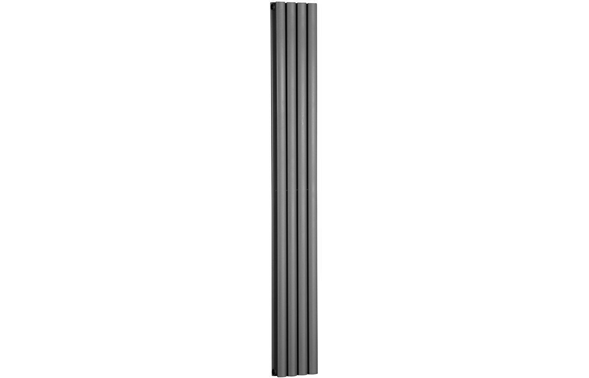 Cylindra 1800x236mm Designer Radiator - Anthracite