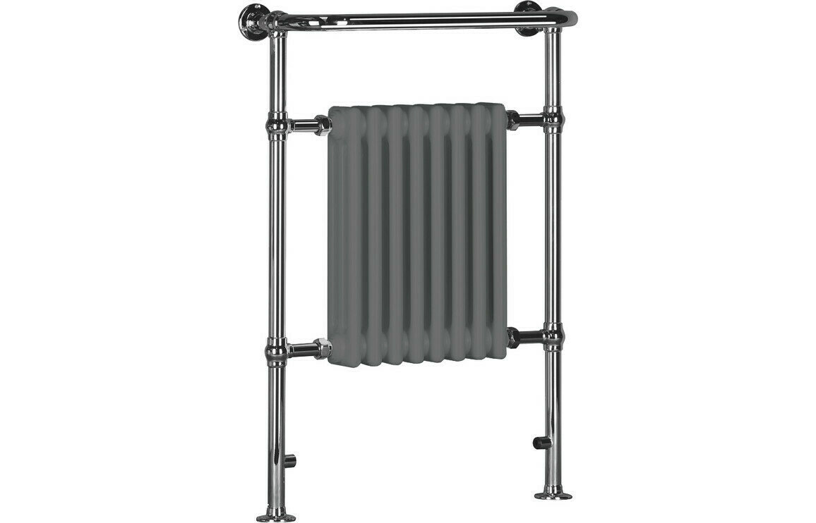 Eterno 673x963mm Traditional Radiator - Grey