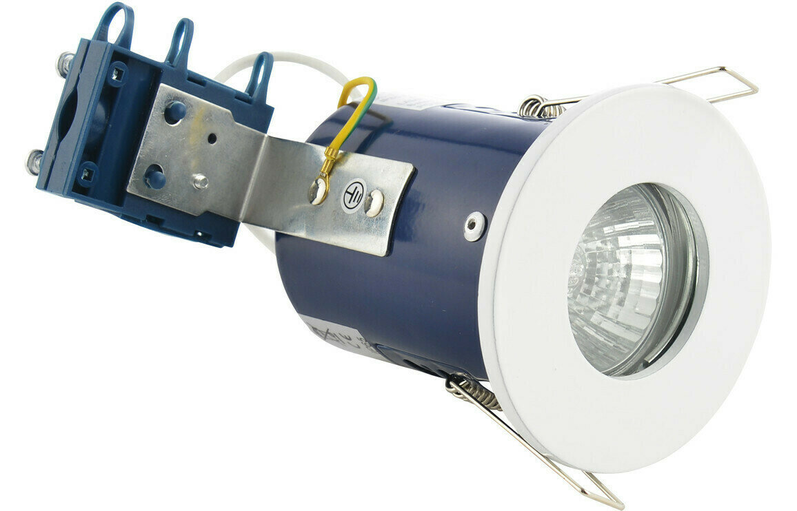 Firerated Shower Downlight - White