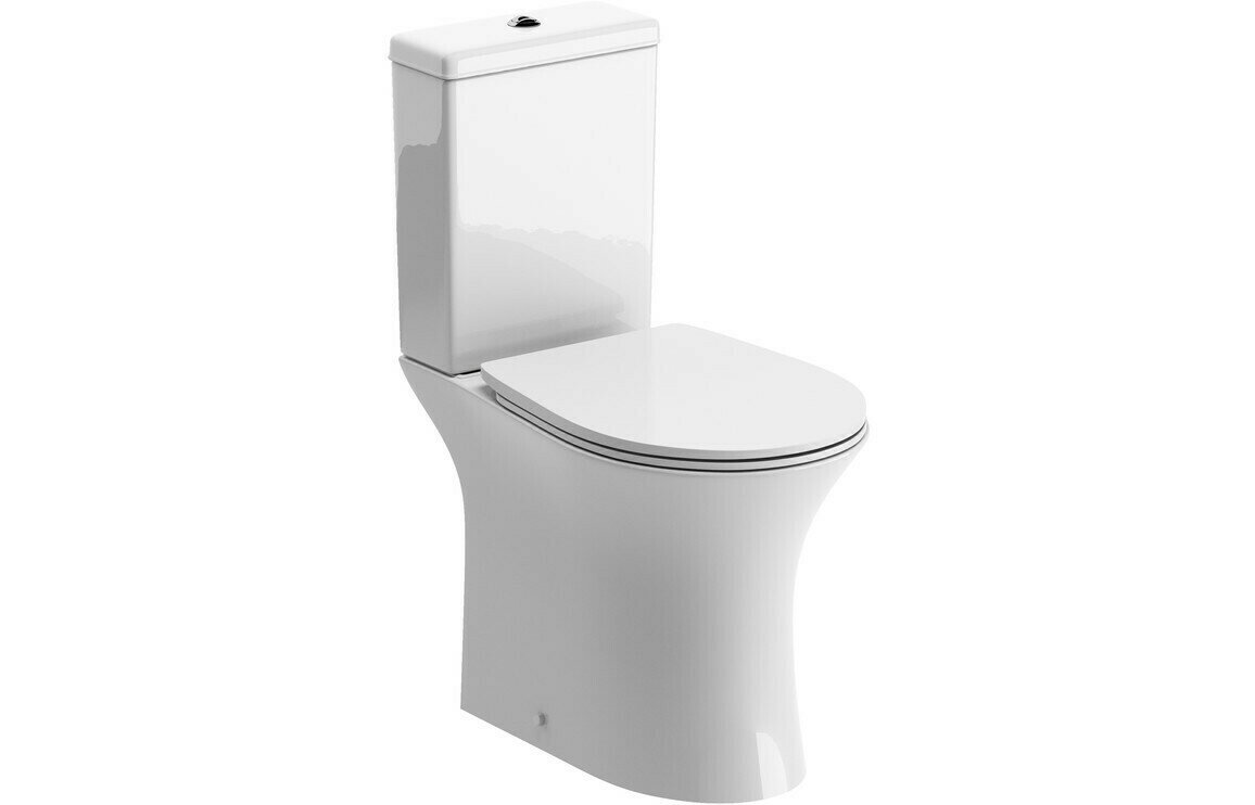 Sandro Rimless C/C Open Back WC & Soft Close Seat