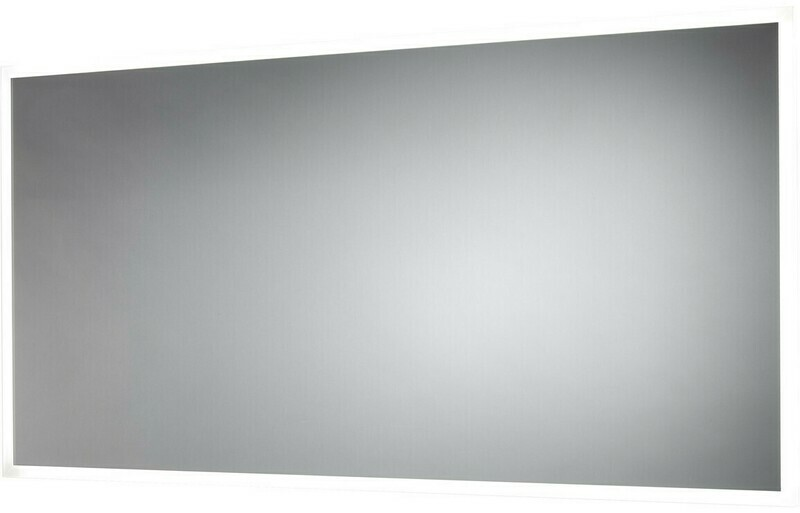Galatea 1200x600mm Border-Lit Dimmable LED Mirror