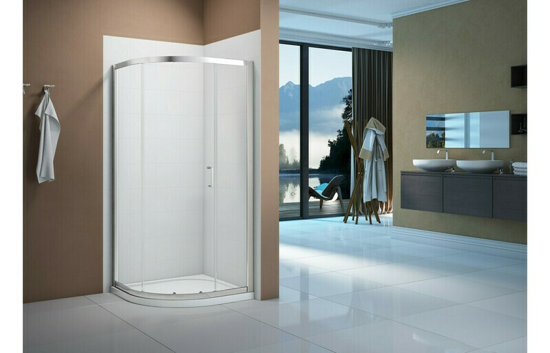 Merlyn Vivid Boost 1000mm 1 Door Quadrant