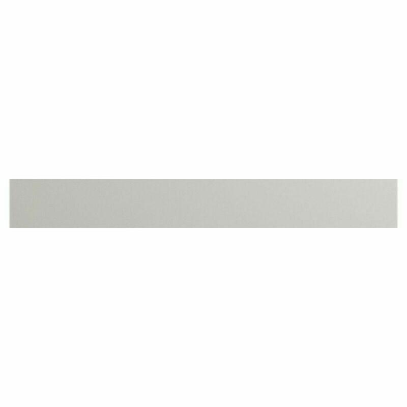 Valesso 2400mm Plinth - Pearl Grey Gloss