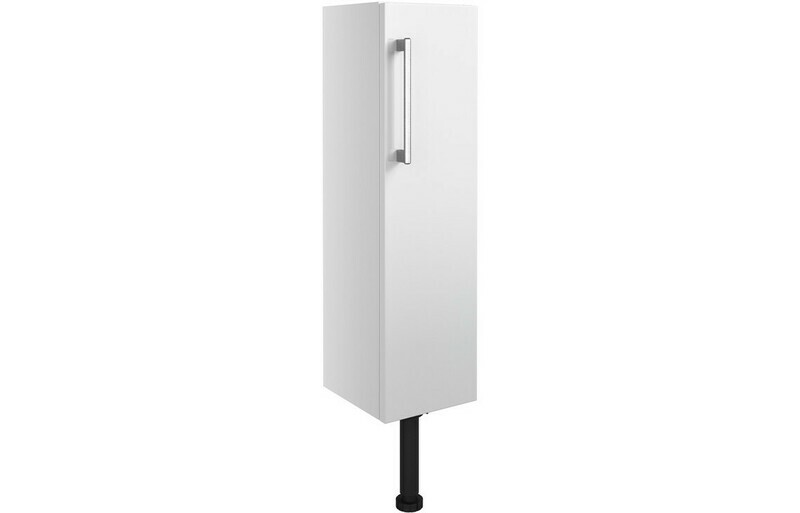 Alba 200mm Slim Base Unit - White Gloss