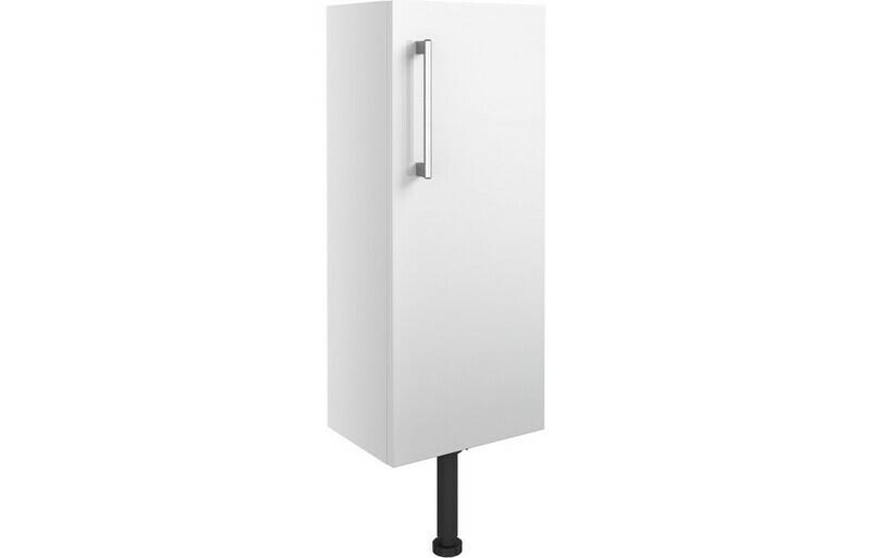 Alba 300mm Slim Base Unit - White Gloss