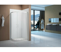 Merlyn Vivid Boost 900x760mm 2 Door Offset Quadrant