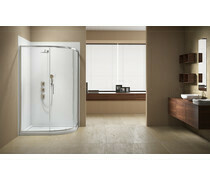 Merlyn Vivid Sublime 1000x800mm 1 Door Quadrant