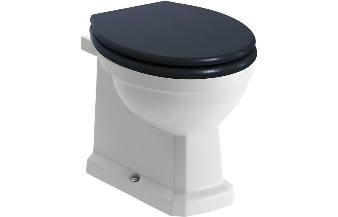 Sherbourne BTW WC & Benita Indigo Ash Soft Close Seat