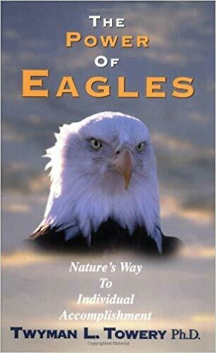 """""""Power Of Eagles"""" (Hardcover Book)"""