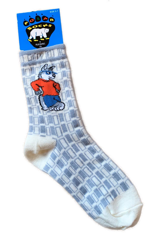 Kids Wolf Socks
