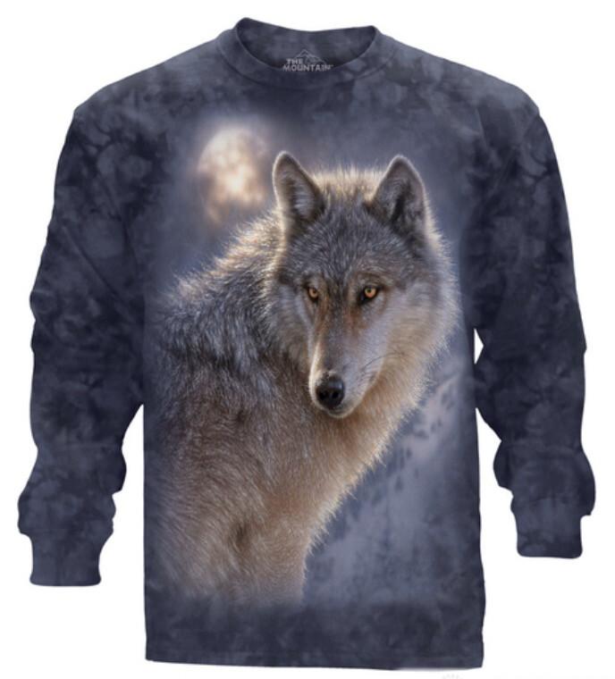 Adventure Wolf Long Sleeve Shirt