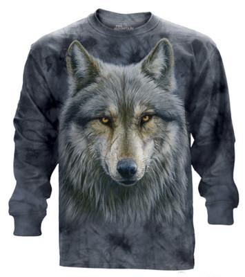 Warrior Wolf Long Sleeve Shirt