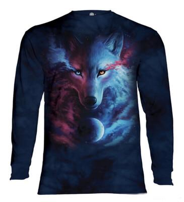 Where Light And Dark Meet Long Sleeve Shirt