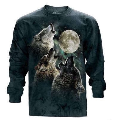 Three Wolf Moon Long Sleeve Shirt