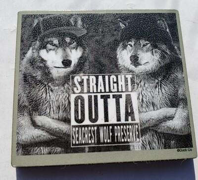 Straight Outta Seacrest Magnet