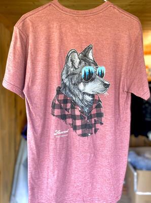 Outdoorsman Wolf Tee