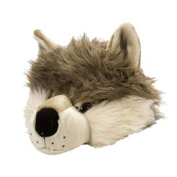Wolf Plush Animal Hat
