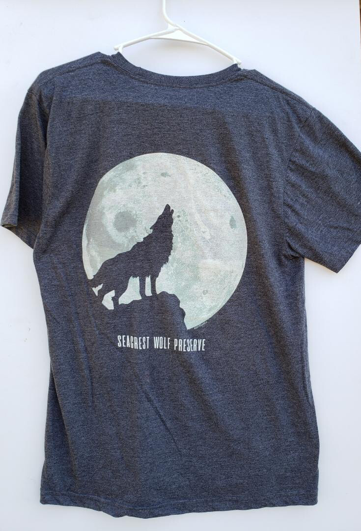 GLOW IN THE DARK-Moon Howl Tee