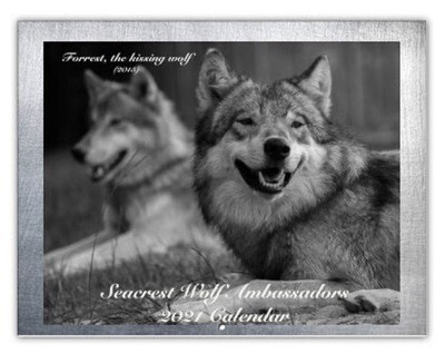 2021 Seacrest Wolf Ambassador Calendar