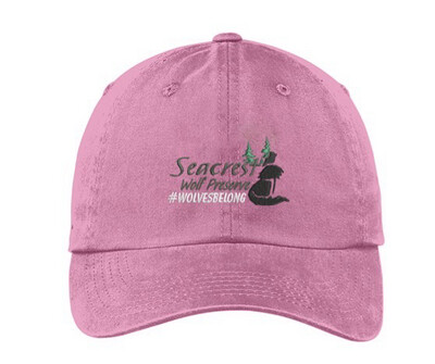 SWP Logo Hat- Pink