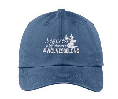 SWP Logo Hat- Steele Blue