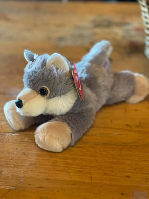 Small Gray Wolf Plushie