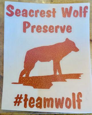 #teamwolf Decal