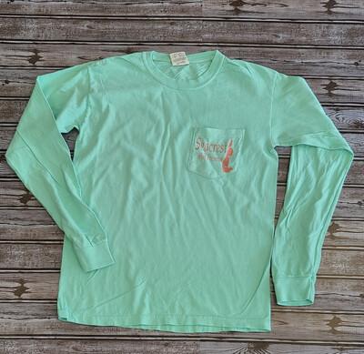 SWP Pocket Shirt- Seafoam