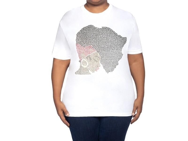 African Hair Womens T Shirt