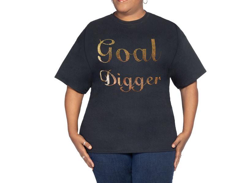Goaldigger Black T Shirt