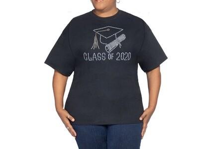 2020 Graduate Black T Shirt