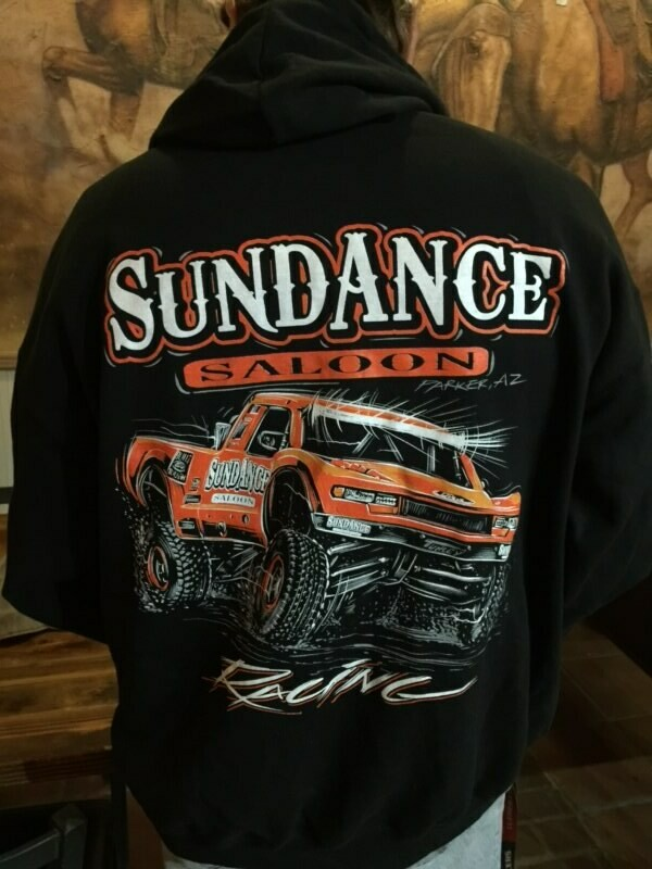 Sundance Saloon Parker Strip Black Jacket