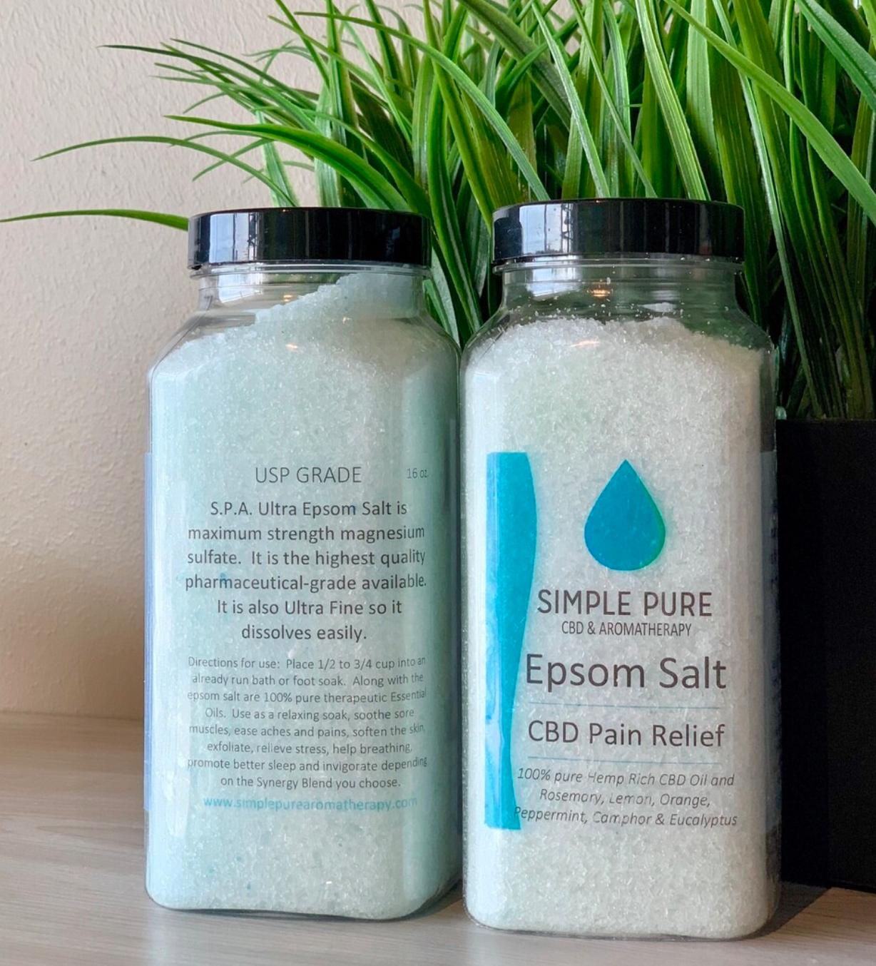 CBD Epsom Salt