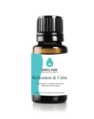 Relax and Calm Synergy Blend