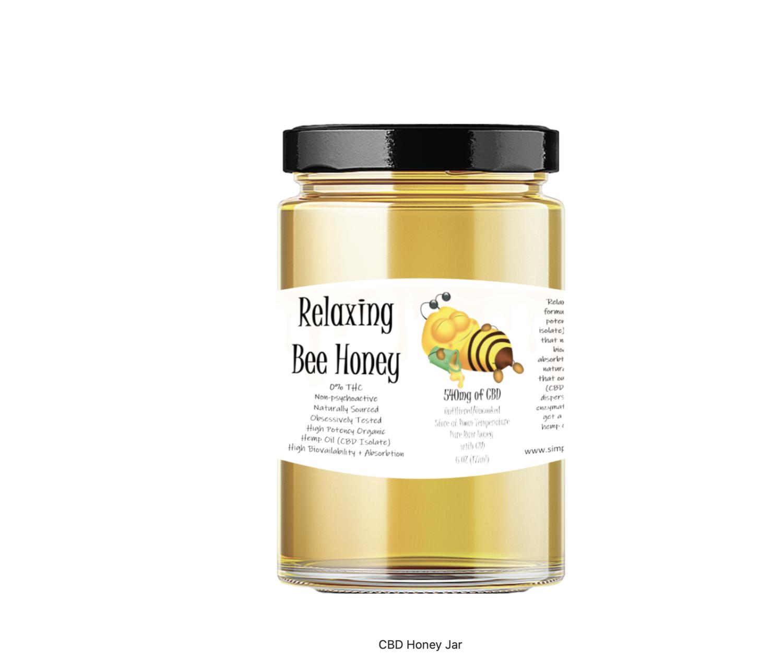 CBD Relaxation Honey