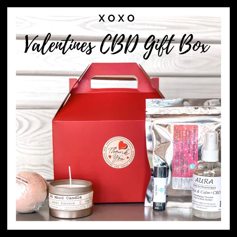 XOXO Valentines Day CBD Gift Box