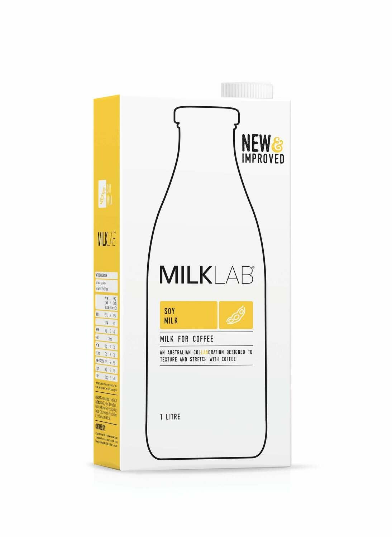 Milklab Soy 8 x 1 litre cartons