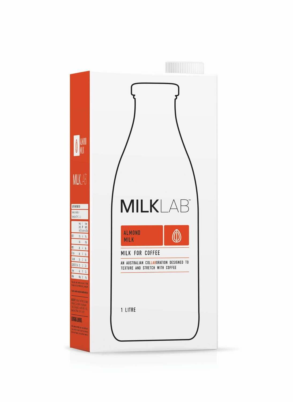 Milklab Almond 8 x 1 litre cartons
