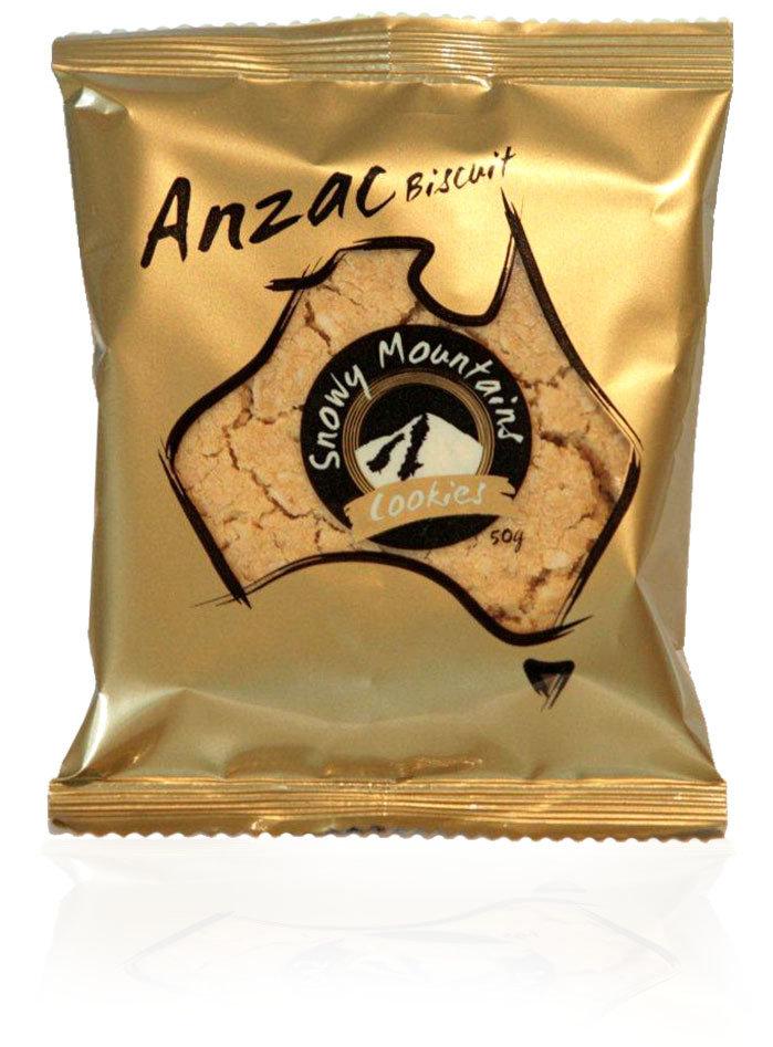 Snowy Anzac Cookies SW 16x50g