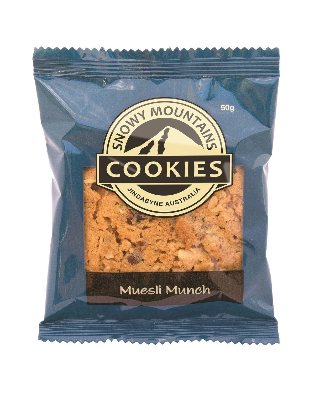 Snowy Muesli Munch Cookies SW 16x50g