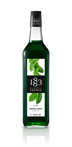 1883 Green Mint Syrup